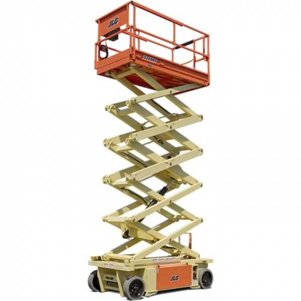 Electric Scissor 32 ft - JLG - Electric - Work Height: 38 ft (11.57 m); Horizontal Outreach: -; Platform Capacity: 705 lb (320 kg)