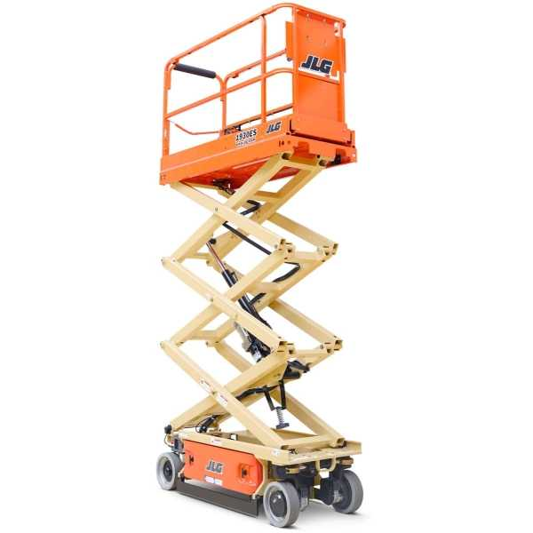 Electric Scissor Lift - 1930ES - JLG - Electric - Platform Height: 18 ft 9 in./5.72 m; Machine Width: 2 ft 6 in./0.76 m