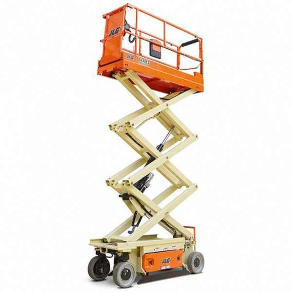 Electric Scissor Lift 2032ES - JLG - Electric - Platform Height: 20 ft/6.1 m; Machine Width: 2 ft 8 in./0.81 m