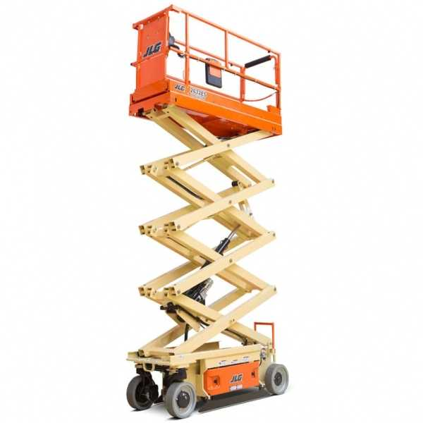 Electric Scissor Lift 2632ES - JLG - Electric - Platform Height: 25 ft 6 in./7.77 m; Machine Width: 2 ft 8 in./0.81 m