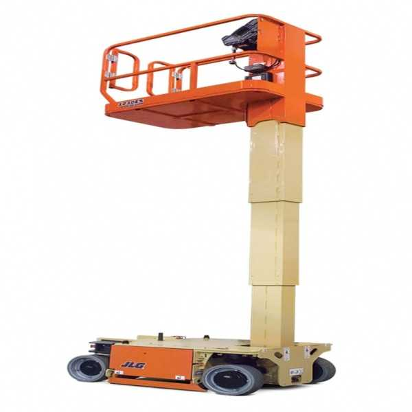 Electric Mast Lifts 1230ES - JLG - Electric - Platform Height: 12 ft/3.66 m; Machine Width: 2 ft 6 in./0.76 m