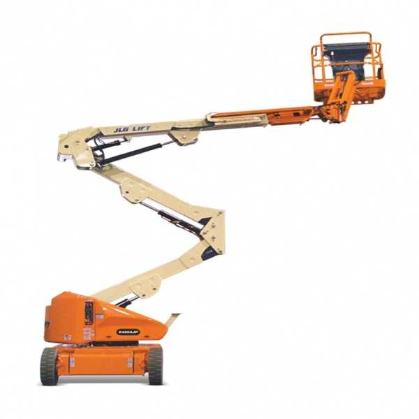Electric Boom Lift E400AJP - JLG - Electric - Platform Height: 40 ft/12.19 m; Machine Width: 5 ft 9 in./1.75 m; Platform Capacity - Unrestricted: 500 lb/226.80 kg