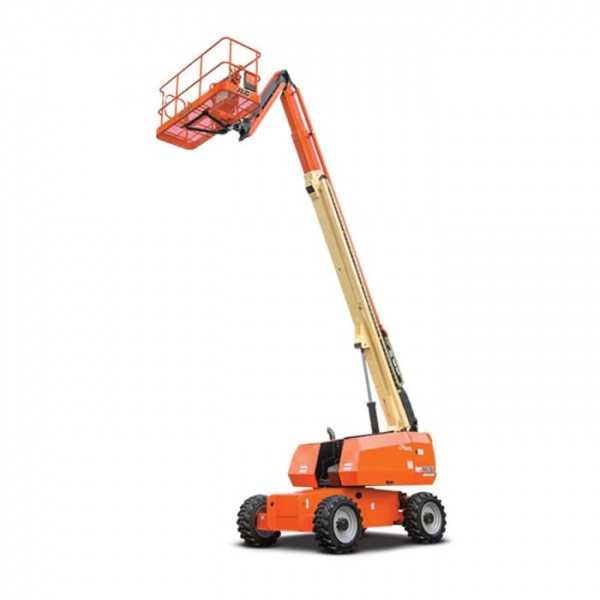 Diesel Straight Boom 66 ft - JLG - Diesel - Work Height: 72 ft 8 in.; Horizontal Outreach: 56 ft 9 in; Platform Capacity: 500 lb (227 kg); Weight: 26650 lb/12088.24 kg