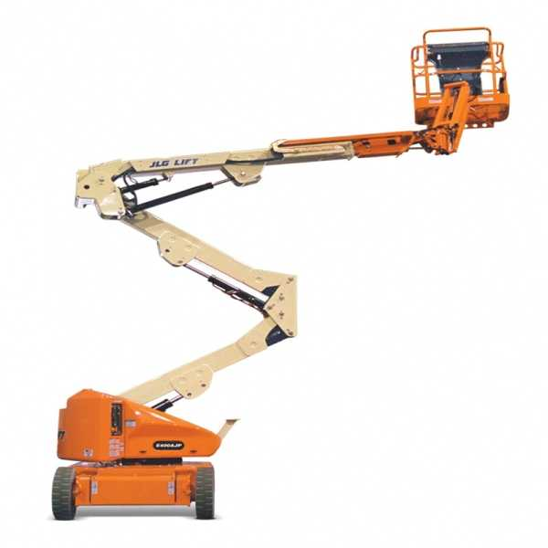 Electric Boom Lift E400AN - JLG - Electric - Platform Height: 40 ft/12.19 m; Machine Width: 4 ft 11 in./1.5 m; Platform Capacity - Unrestricted: 500 lb/226.80 kg