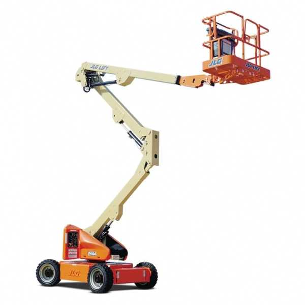 Electric Boom Lift E450A - JLG - Electric - Platform Height: 45 ft/13.72 m; Machine Width: 5 ft 9 in./1.75 m