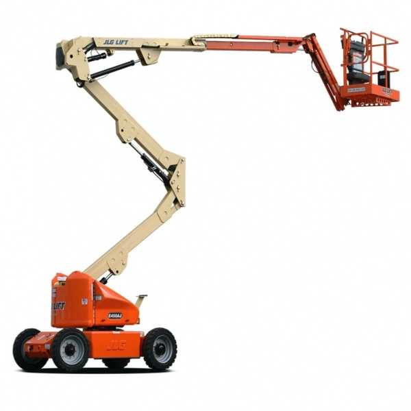 Electric Boom Lift E450AJ - JLG - Electric - Platform Height: 45 ft/13.72 m; Machine Width: 5 ft 9 in./1.75 m