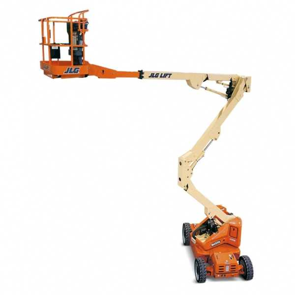 Electric Boom Lift M450AJ - JLG - Electric - Platform Height: 45 ft/13.72 m; Machine Width: 5 ft 9 in./1.75 m