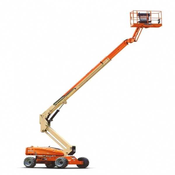 Electric Boom Lift M600J - JLG - Electric - Platform Height: 60 ft 3 in./18.36 m; Platform Capacity: 500 lb/226.80 kg; Machine Width: 7 ft 11 in./2.41 m