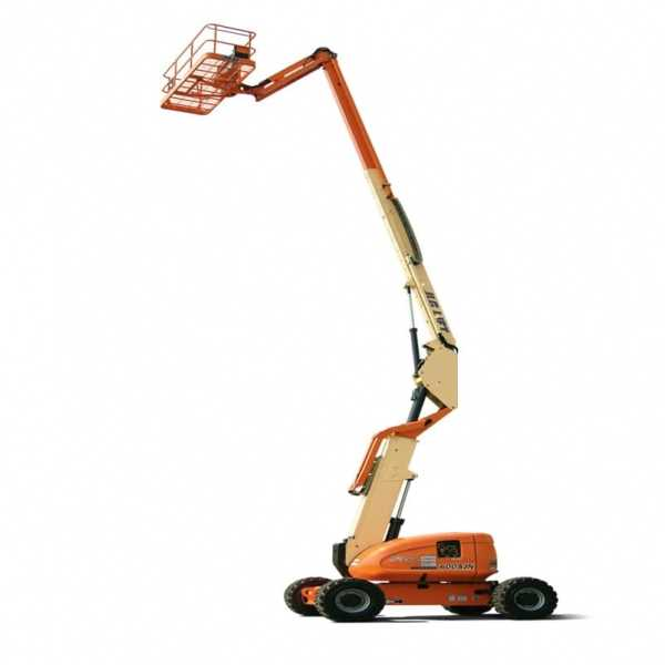 Articulating Boom Lift 600AJN Narrow - JLG - Diesel - Platform Height: 60 ft 7 in./18.47 m; Platform Capacity - Unrestricted: 500 lb/226.80 kg; Horizontal Outreach: 39 ft 9 in./12.12 m