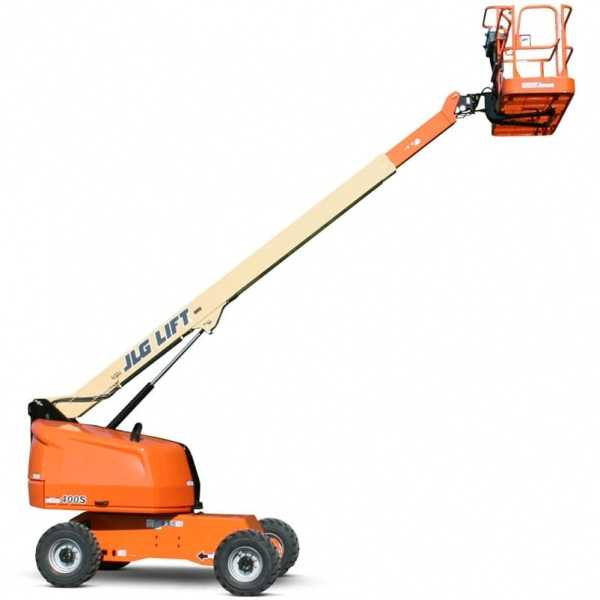 Telescopic Boom Lift 400S - JLG - Gas - Platform Height: 40 ft/12.19 m; Platform Capacity - Restricted: 1000 lb/453.59 kg; Platform Capacity - Unrestricted: 600 lb/272.16 kg; Horizontal Outreach: 33 ft 3 in./10.13 m