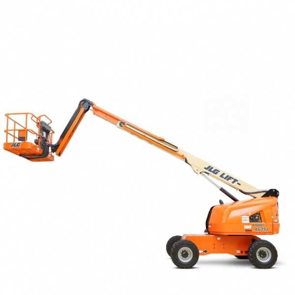 Telescopic Boom Lift 460SJ - JLG - Gas - Platform Height: 46 ft/14.02 m; Platform Capacity - Unrestricted: 600 lb/272.16 kg; Horizontal Outreach: 39 ft/11.89 m